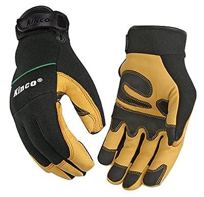 Kinco 102 KincoPro Unlined Grain Goatskin Leather Work Glove
