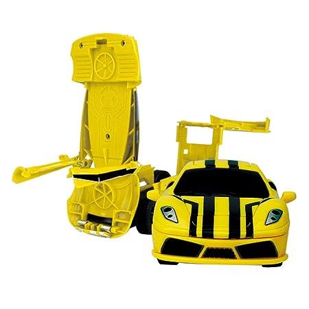 Mallalah - Mini Robot transformable para Coche, 2 en 1, para ...