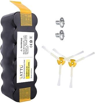 Batteria compatibile per iRobot Roomba Ni-MH 4500mAh APS Batteria ...