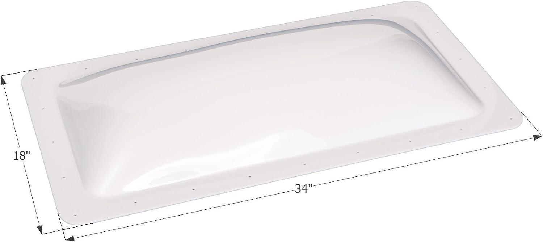 "ICON 01849 RV Skylight SL1430-30"" x 14"" 4"", White"