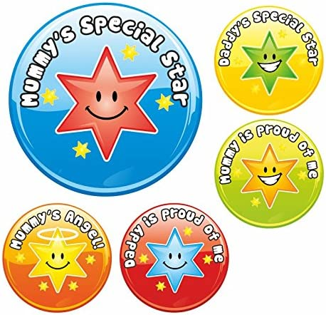 Mommy /& Daddy Special Star Praise Stickers