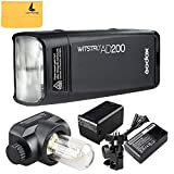 Godox AD200 TTL 2.4G HSS 1/8000s Pocket Flash Light Double Head 200Ws with 2900mAh Lithium Battery