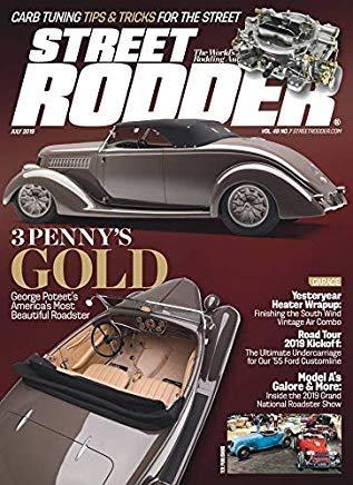 Street Rodder Magazine July 2019 3 Penny
