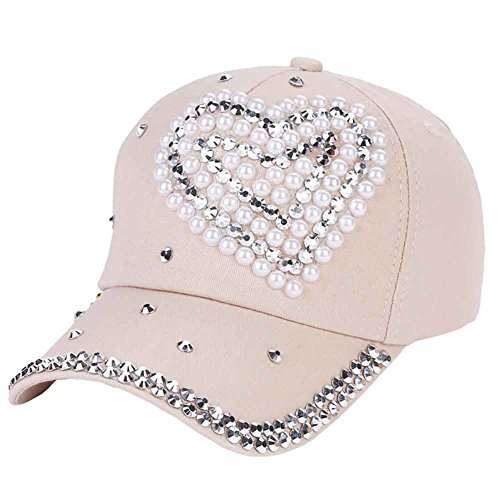 2a3c288aadad2 CHUANGLI Fashion Adjustable Kids GIirl Boy Bling Rhinestone Denim Baseball Cap  Hat Glitter Sun Hat
