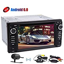 Eincar GPS Car Radio Stereo with Quad-core Android 6.0 system in Dash GPS Navigation 6.2inch Car DVD Player For TOYOTA Corolla EX£¨2008-2013£©Headunit Wifi 4G/3G OBD Mirror Link Cam-in SWC BT