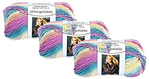 Bulk Buy: Red Heart Boutique Unforgettable Yarn (3-Pack) Candied E793-3965