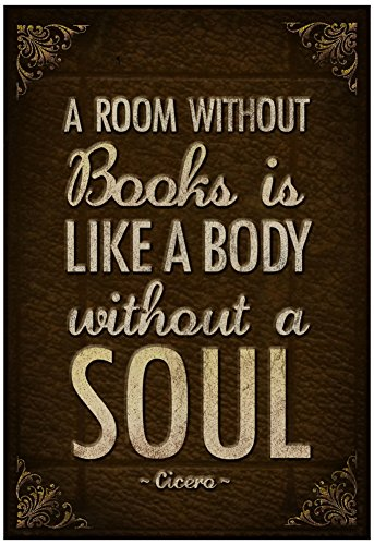 Laminated Room Without Books Poster