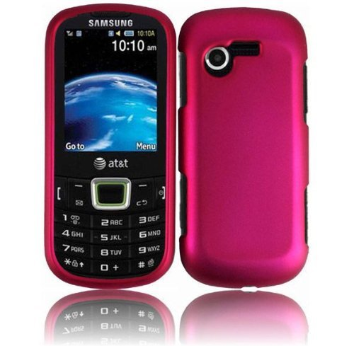 For-StraightTalk-Samsung-SGH-S425G-Evergreen-Slider-Hard-Cover-Case-Hot-Pink