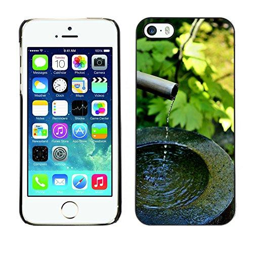Premio Sottile Slim Cassa Custodia Case Cover Shell // F00015920 jardin japonais // Apple iPhone 5 5S 5G