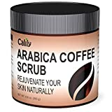 Calily Premium 100% Natural Arabica Coffee Scrub 8.8 Oz. - Achieve Smooth and Firm Skin - Deep Hydrating, Exfoliating and Cleansing - Helps Against Wrinkles, Cellulite, Stretch Marks, etc. review