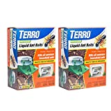 Terro T1806SR 2 Pack 2 Pack Outdoor Liquid Ant Baits-12 Traps, 2 Pack, Clear