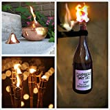 """[5 Feet ] [1/2 """"/ 12mm] Round Fiberglass Wick DIY Replacement, For DIY Oil / Kerosene lamp &Tiki torches &Rock candles, and Lab Alcohol / Spirit lamp for students"""