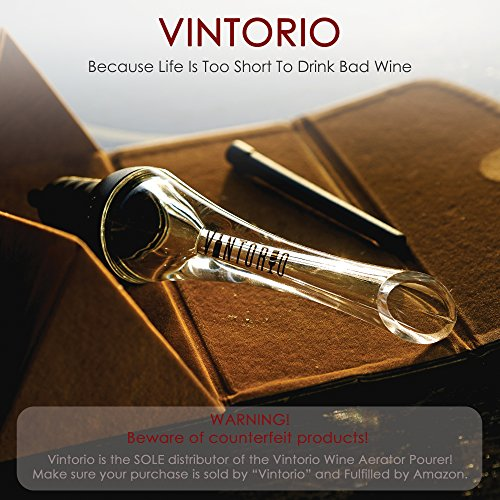 Vintorio Wine Aerator Pourer - Premium