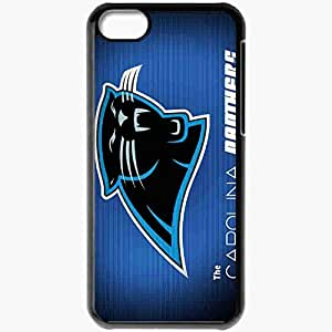 Personalized iPhone 5C Cell phone Case/Cover Skin 14294 carolina panthers wallpap by tetsigawind d38brwg Black