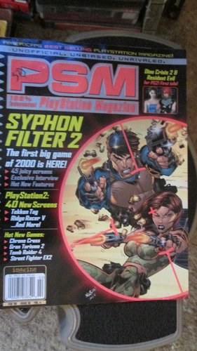 Playstation Magazine PSM Volume 4 Issue 30 February 2000 Feb 2000 Syphon Filter PS2 Dino Crisis Resident Evil Video games (PSM, Volume 4)