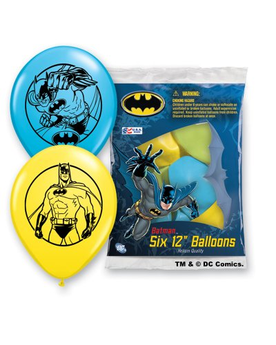 Pioneer National Latex Batman 6 Count 12