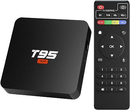 Android 10.0 TV Box,TV Box 2GB RAM/16GB ROM Allwinner H3 Quad-Core Support WiFi/Ethernet 4K HDMI: Amazon.es: Electrónica