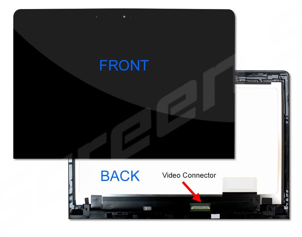 New Lenovo Yoga 900 LCD Touch Screen Digitizer LTN133YL05 5D10H54967 New Replacement LCD Screen for Laptop LED Glossy