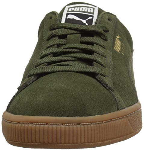 puma Suede Puma Team Night Men's Classic Gold Forest Sneaker vgvqZaY