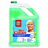 Mr. Clean PGC 23124 84847665 Multipurpose Cleaning Solution with Febreze, 128 oz. Capacity Bottle, Meadows and Rain Scent