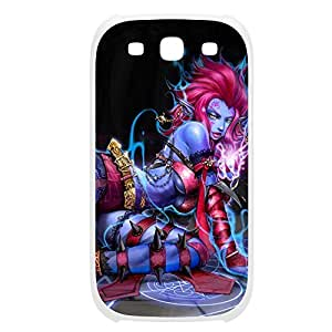Evelynn-002 League of Legends LoL case cover Samsung Galaxy Note3 Plastic White