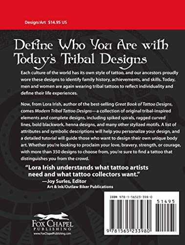 Modern Tribal Tattoo Designs