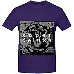 Underworld Dubnobasswithmyheadman Tour Hits Mens O Neck Short Sleeve Tee Shirts Purple