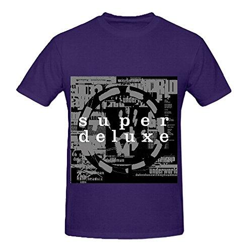 Lna Crewneck (Underworld Dubnobasswithmyheadman Tour Jazz Men Crew Neck Custom T Shirt Purple)