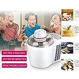 Ice Cream Maker, Freezing Self-Refrigerating