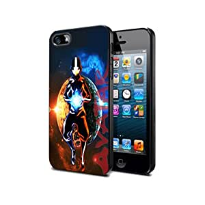 Avatar Avt05 Cartoon Anime Manga Case Cover Protection for iPhone 5c Black Silicone