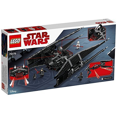 LEGO Star Wars Episode VIII Kylo Ren's Tie Fighter