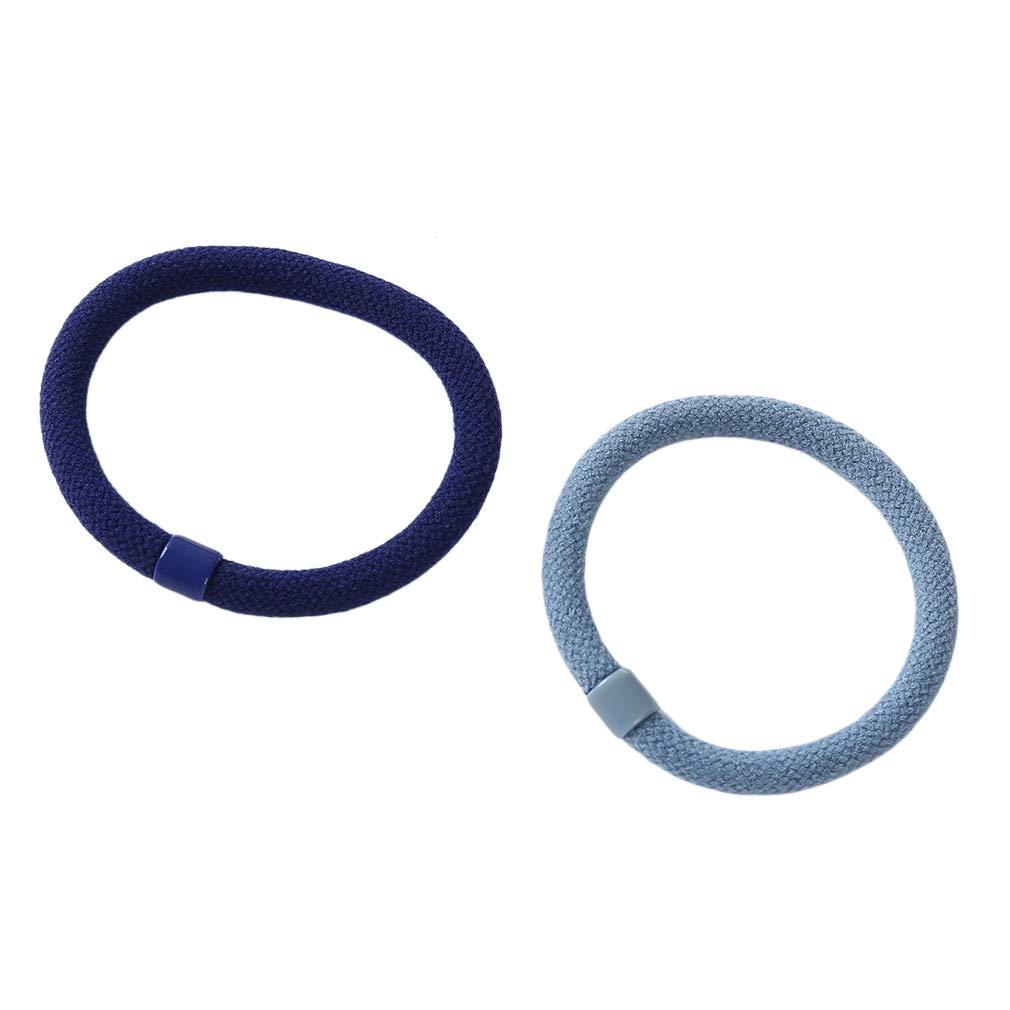 LLZIYAN 5 Pcs//Set Arc Perle Corde /À Cheveux /Élastique Anneau De Cheveux /Él/égant Ponytail Titulaire Accessoires De Cheveux pour Les Femmes Bleu