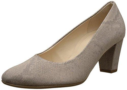 Beige Shoes Femme Escarpins 12 Leinen Comfort Gabor 7AUqOq
