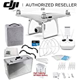 DJI Phantom 4 PRO Quadcopter Starters Aluminum Carrying Case Bundle