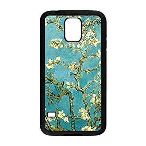 Vintage Flower Watercolor Custom Cover Case for SamSung Galaxy S5 I9600,diy phone case ygtg585757