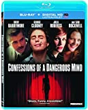 NEW Barrymore/clooney/roberts - Confessions Of A Dangerous Min (Blu-ray)