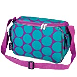 Wildkin Big Dots Aqua Lunch Cooler