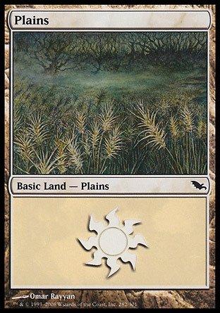 Magic: the Gathering - Plains (282) - Shadowmoor - Foil