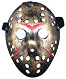 Lovful Costume Cosplay Halloween Prop Party Mask for Adult,Copper