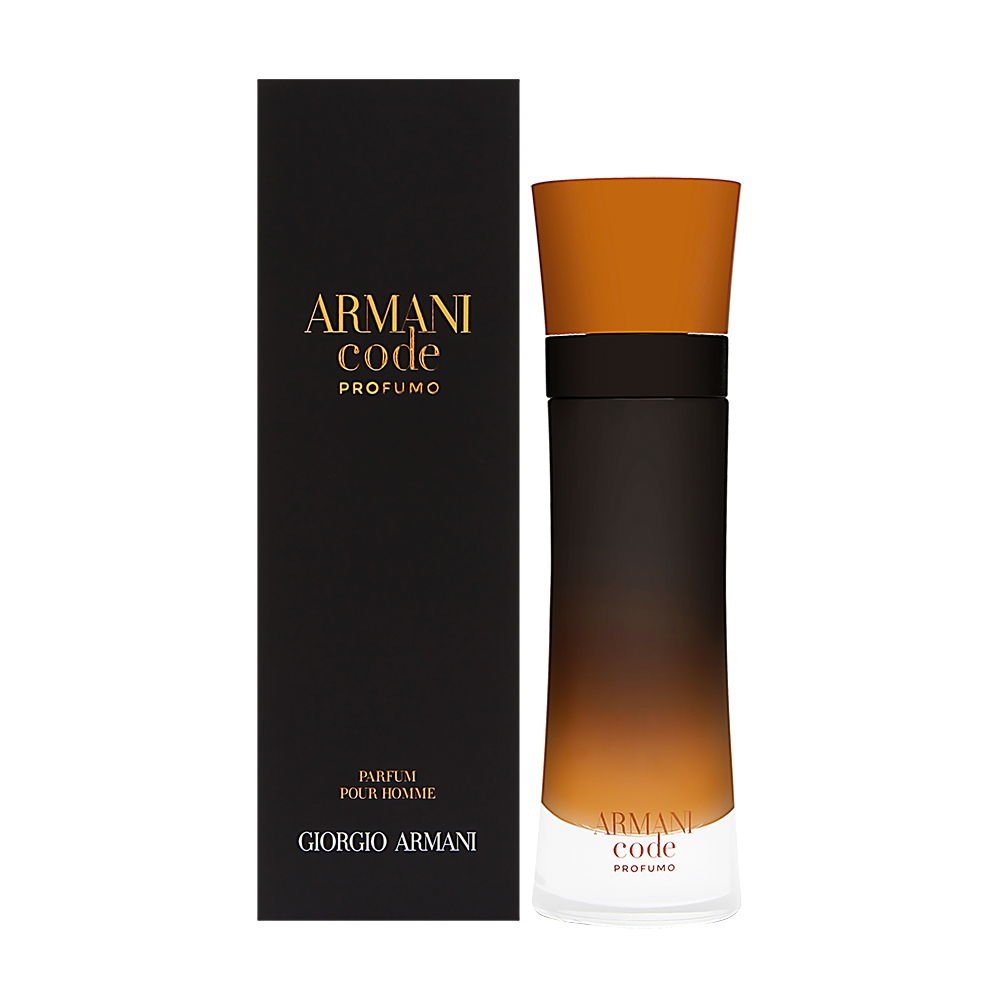 Armani Code Profumo by Giorgio Armani | Eau de Parfum Spray | Fragrance for Men | An Alluring, Sensual, Woody Scent with Notes of Cardamom and Amber | 110 mL / 3.7 fl oz