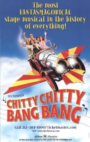 "Chitty Chitty Bang Bang Poster 27/""x40/"""