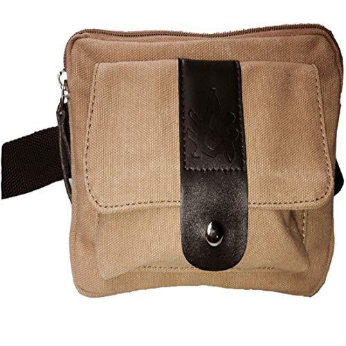 Lona Khaki Viaje Bum Cinturón Hip Cintura De Bloqueo Negra color Monedero Pack Houyazhan Marrón Khaki Dinero Senderismo Fanny Rfid Bolsa z7gCxqUw