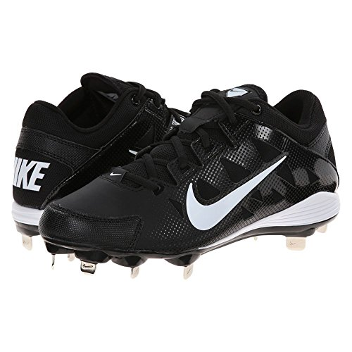 Hyperdiamond NIKE Metal White Cleat Women's Black Softball Strike pRRHq