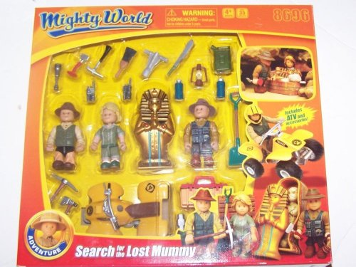 Mighty World Search for the Lost Mummy