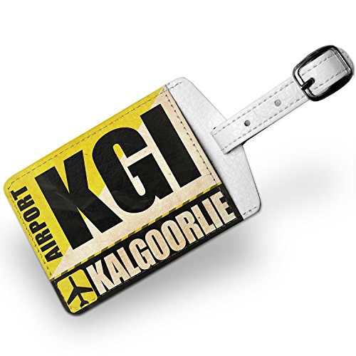 luggage-tag-airportcode-kgi-kalgoorlie-travel-id-bag-tag-neonblond