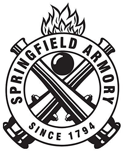 Amazon Com Springfield Armory Since 1794 Helmet Bumper Sticker Hard