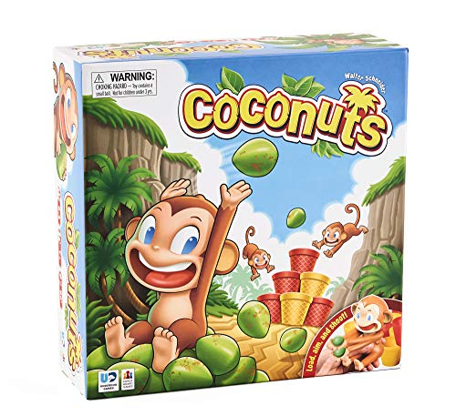 Coconuts: The Award-Winning Game of Monkeys, Cups, and Laughter