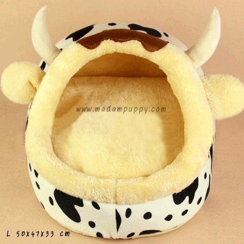 pet-mattress-bed-dome-cow