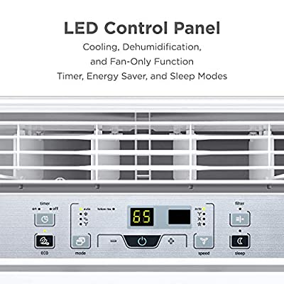 Midea Window Air Conditioner Easycool AC (Cooling, Dehumidifier and Fan Functions) for Rooms