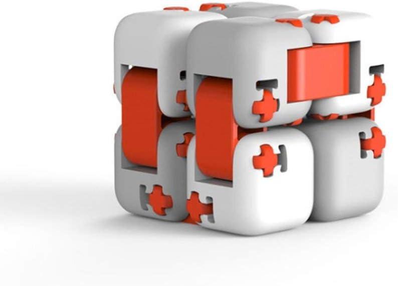 Kinshops per Xiaomi MITU Building Blocks Infinite Finger Spinner Fidget Portable Toy , Grigio